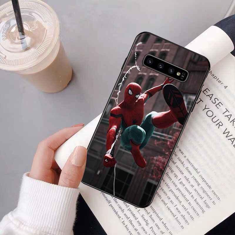 NBDRUICAI serin Marvel örümcek adam yüksek kaliteli telefon samsung kılıfı S9 artı S5 S6 kenar artı S7 kenar S8 artı S10 E s10 artı