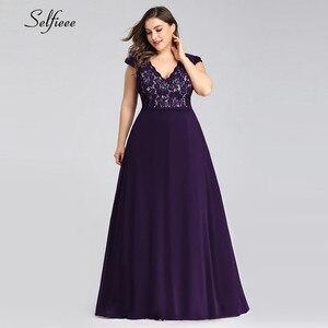 Image 5 - Plus Size Dresses For Women Summer Beach Dress Elegant A Line V Neck Sleeveless Long Boho Dress New Fashion Black Lace Dress