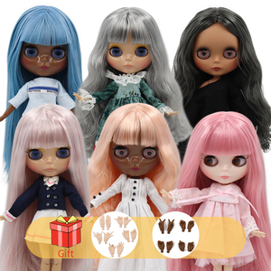DBS ICY factory Blyth doll nude joint body with hand set A&B 1/6 BJD fashion doll suitable diy makeup Special price(China)