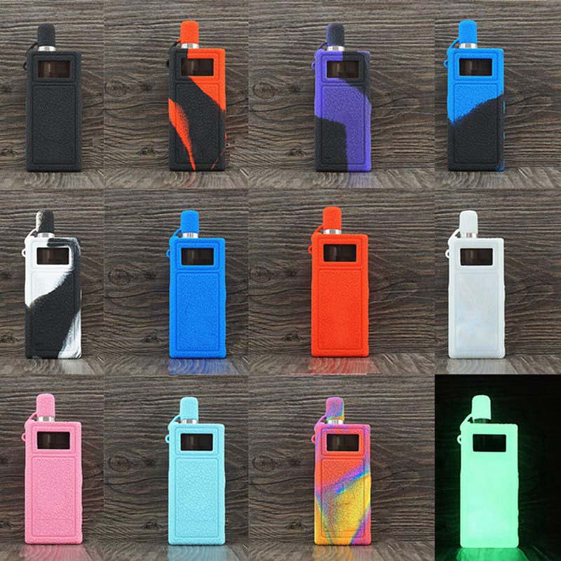 Silicone Case  Shield Wrap Cover Protective Sleeve Skin With Lanyard Sling For Smoant Pasito Pod