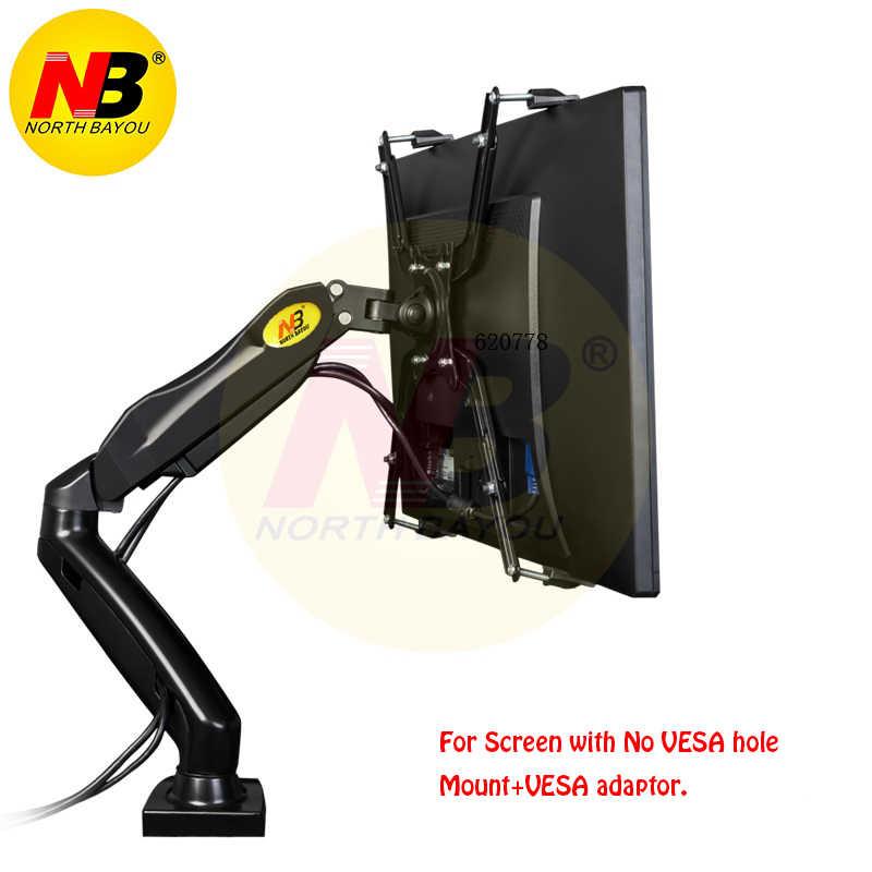 """Extension de FP-1 NB F80 + pour pas de trou VESA 17-27 """"bras de support de moniteur LED"""