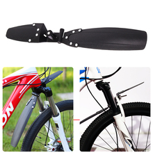 Quick Release Adjustable Bicycle Fender Plastic Mountain Bike Mudguard Set Front Rear MTB for 20-26inch