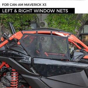 Image 1 - UTV Cặp Trái & Phải Cửa Sổ Lưới An Toàn Lưới Bảo Vệ Cho Có Thể Am Maverick X3 Canam Có Thể Am 2017 2021