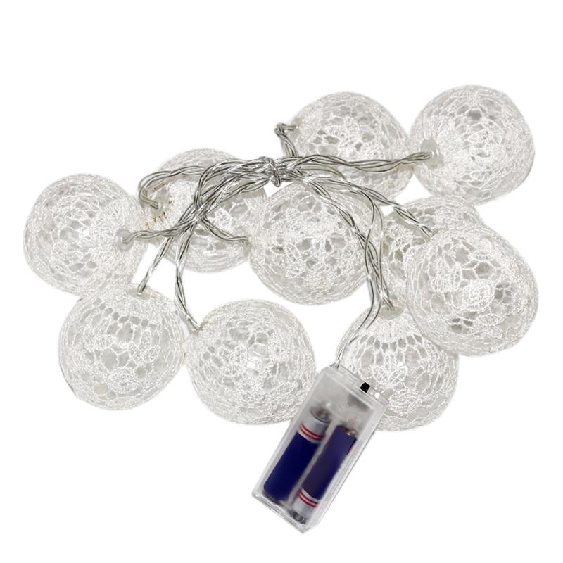 Led Light String Lace 20Leds Holiday Lights Fairy Garland Christmas Wedding Decoration Promotion