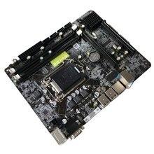 6-канальный материнская плата P55-A-1156 материнская плата высокая производительность настольный компьютер материнская плата Процессор Интерфейс LGA 1156