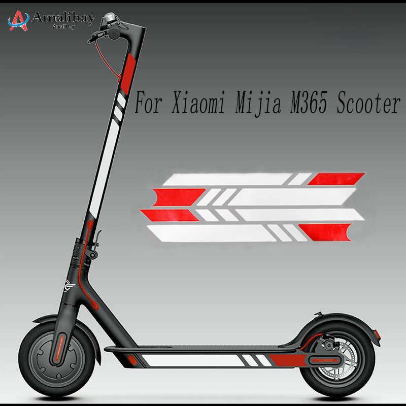 Xiaomi M365 Pro Full Body Sticker Decal Accessory E-scooter Sticker Black White