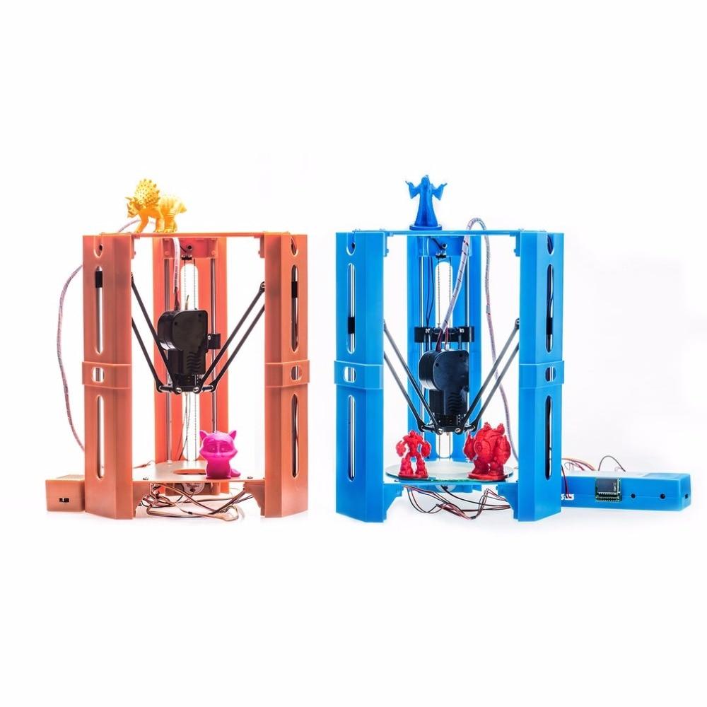 101HERO Protable 3D Printer Mini 1.75mm 0.4mm Nozzle Filament Metal Desk 3D Printer DIY Kit DV Versions Drop Shipping  (4)
