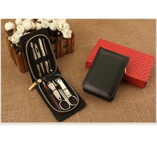 8 in 1 Gold Plating Professional Travel Manicure Pedicure Set Nail Care Set Kit