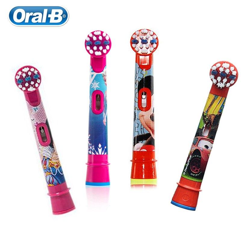 original oral b substituicao cabecas de escova para criancas escova de dentes eletrica cerda macia pequena