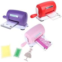 DIY штампы тиснение машина Скрапбукинг резак штампы машина изготовление бумажных карточек ремесло инструмент высечки