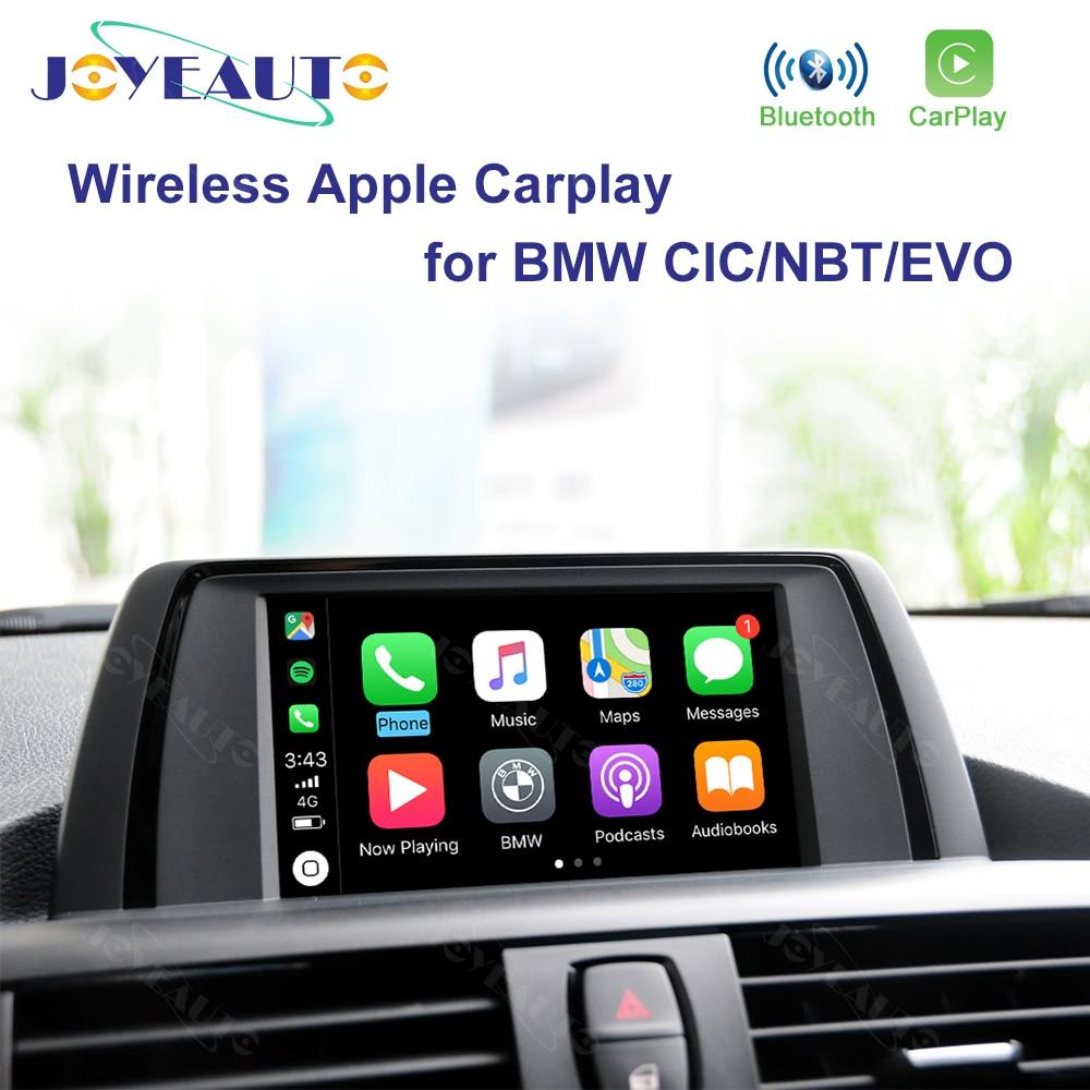 Joyeauto WIFI Wireless Apple Carplay Car Play For BMW CIC NBT EVO 1 2 3 4 5 7 Series X1 X3 X4 X5 X6 MINI I3 Android Auto Mirror