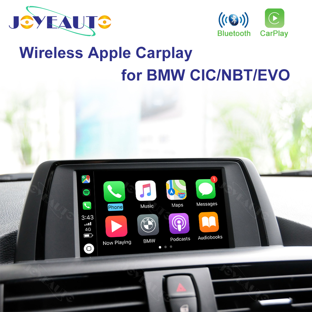 Joyeauto WIFI Wireless Apple Carplay Car Play for BMW CIC NBT EVO <font><b>1</b></font> 2 <font><b>3</b></font> 4 <font><b>5</b></font> 7 Series X1 X3 X4 X5 X6 MINI i3 Android Auto Mirror image