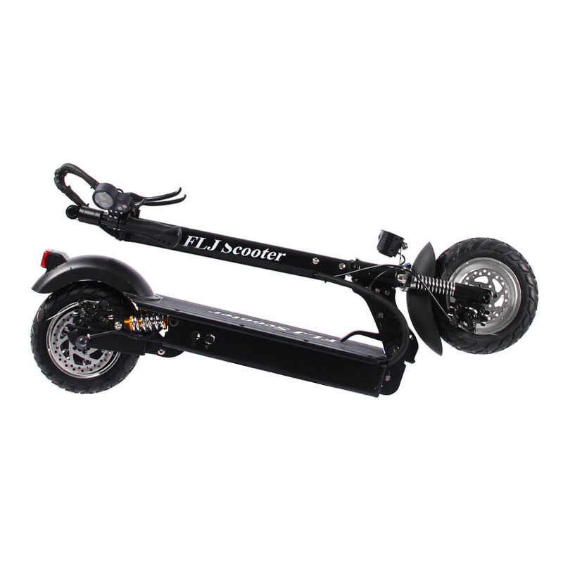 FLJ 성인 전기 스쿠터 좌석 48V/1200W / 500W 킥 스쿠터 foldable 전자 스쿠터 큰 바퀴 전기 자전거 스쿠터 electrico