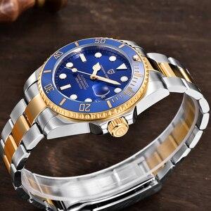 Image 2 - PAGANI DESIGN reloj mecánico automático de lujo para hombre, de pulsera, resistente al agua, de acero inoxidable, Masculino