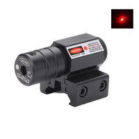 US Red Dot Laser Sight for Picatinny and Rifle with 635-655nm Adjustable 11mm/20mm Picatinny/Weaver Mount 2