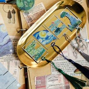 Image 3 - العالم الشهير لوحات فان جوخ فارغة كراسة الرسم مذكرات الرسم اللوحة دفتر مجموعة كتاب رسم اللوازم المدرسية هدية عيد ميلاد