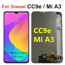 6.01 inch TFT LCD For Xiaomi Mi A3 lcd Display Touch Screen Digitizer Assembly Replacement Parts For Xiaomi CC9e LCD