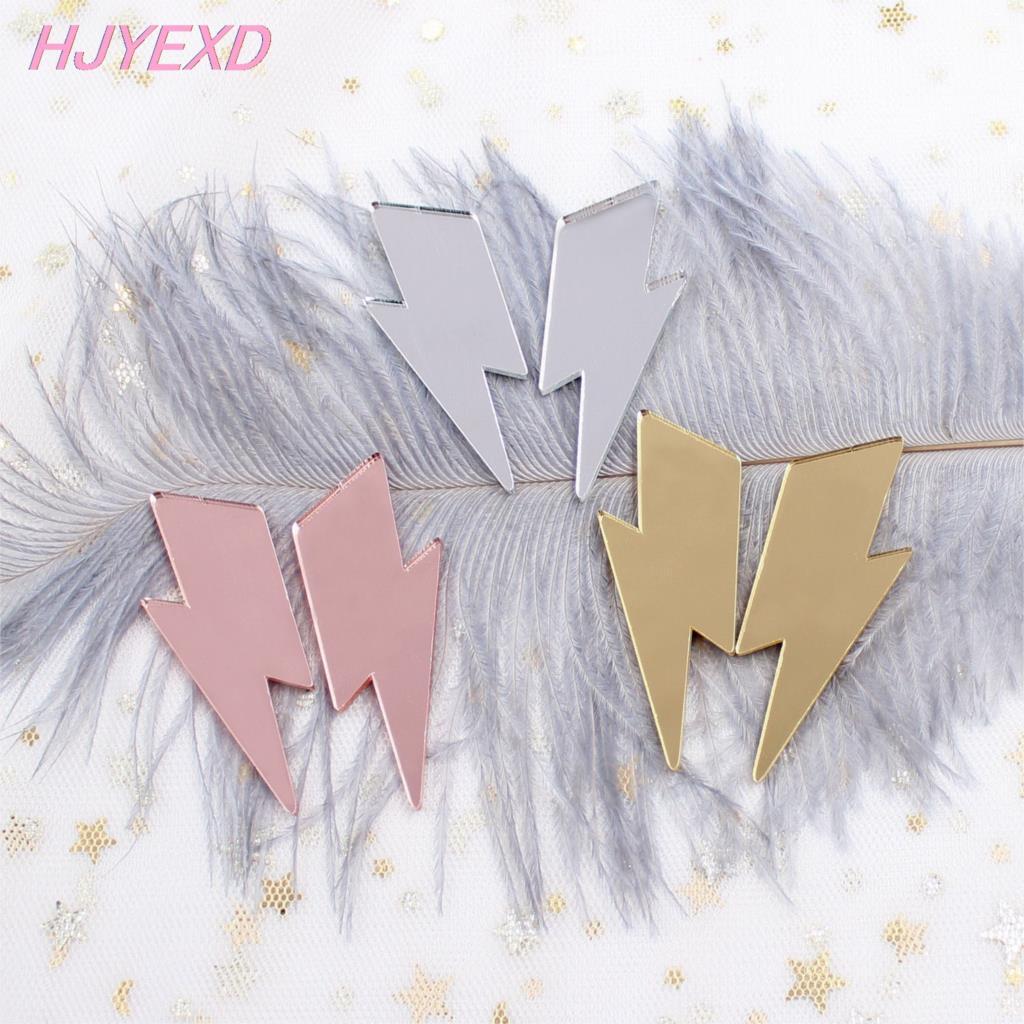 Heart Earrings Laser Cut Earrings Valentine Earrings Mirror Earrings Acrylic Earrings Heart Cutout Mirrored Acrylic Earrings