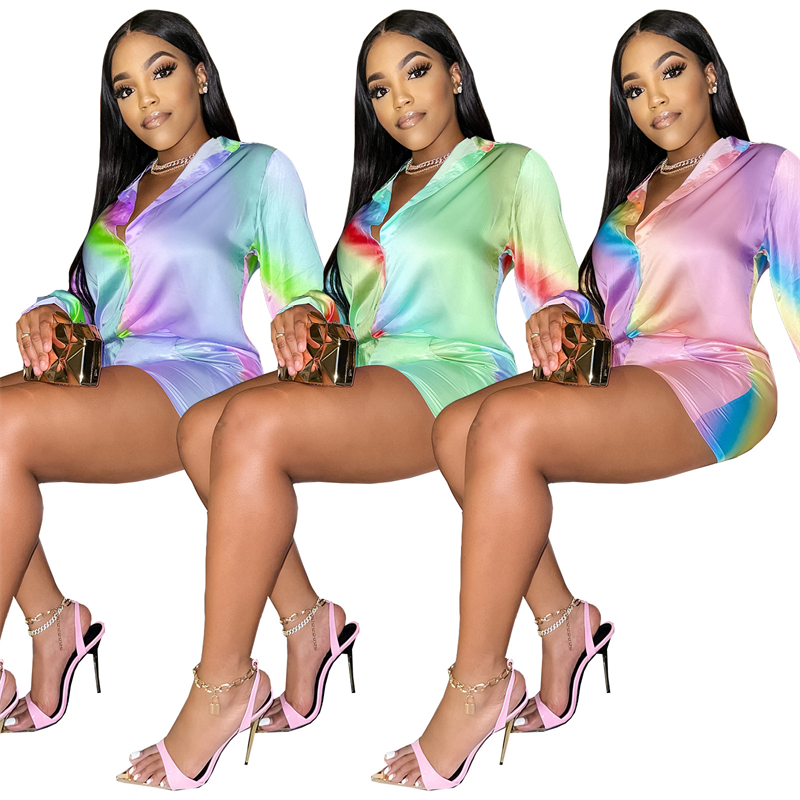 Changing Color Two Piece Set