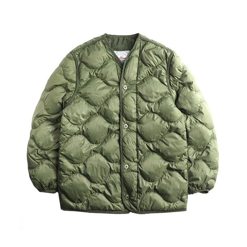 M65-0003 Read Description!  Asian Size Duck Feather Super Warm M51 M65 Parka Jacket Lining