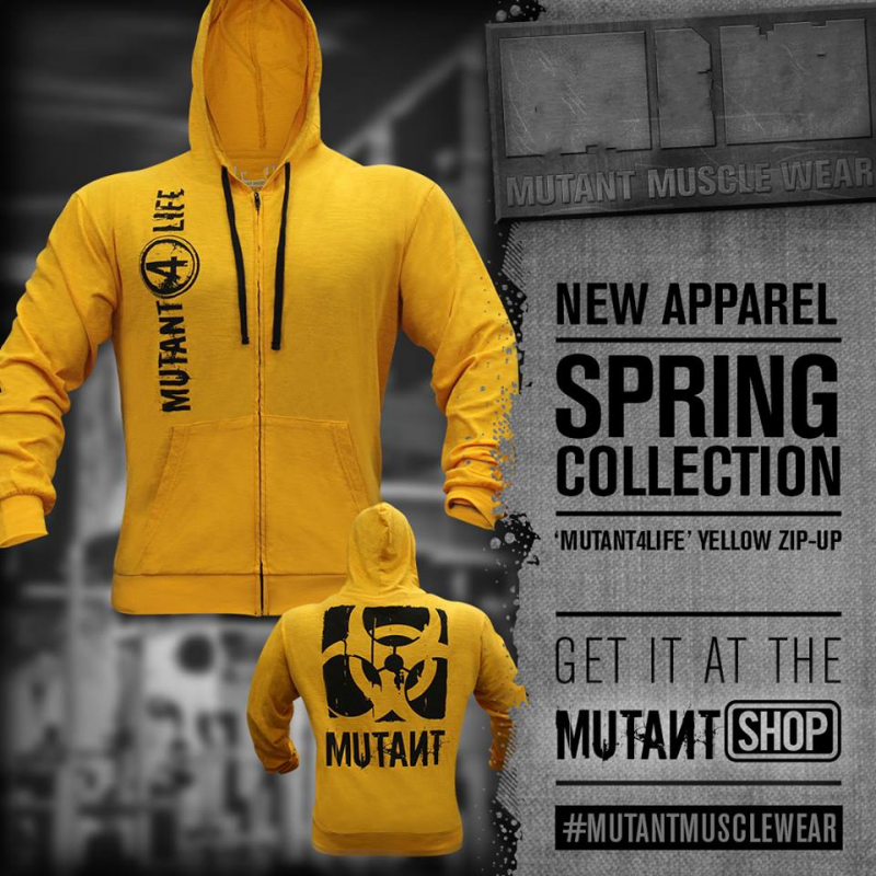 2019 New Mutant Men Gyms Hoodies Gyms Fitness Bodybuilding Sweatshirt Pullover Sportswear Male Workout Hooded Jacket Clothing