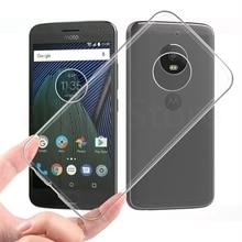 Soft Phone Case For Motorola Moto C G3 G4 G5 G6 G7 Plus Z Z2 Z3 Play X4 E4 E5 E6 Transparent Luxury Ultra thin Cover