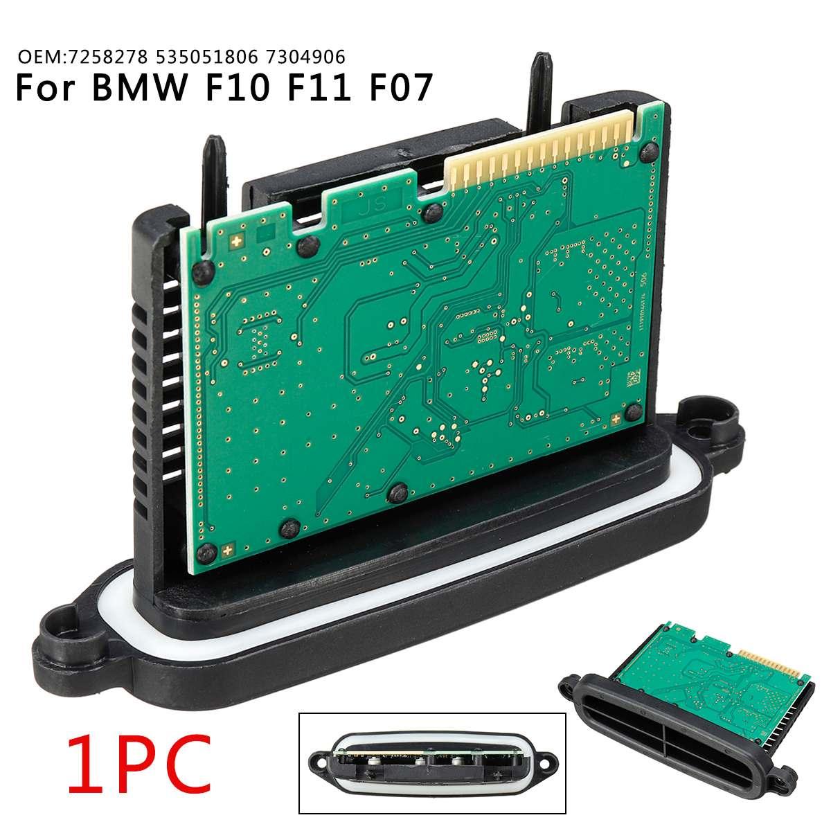 Halogen Headlight TMS Driver Module Heater 7258278 535051806 7304906 For BMW F10 F11 F07