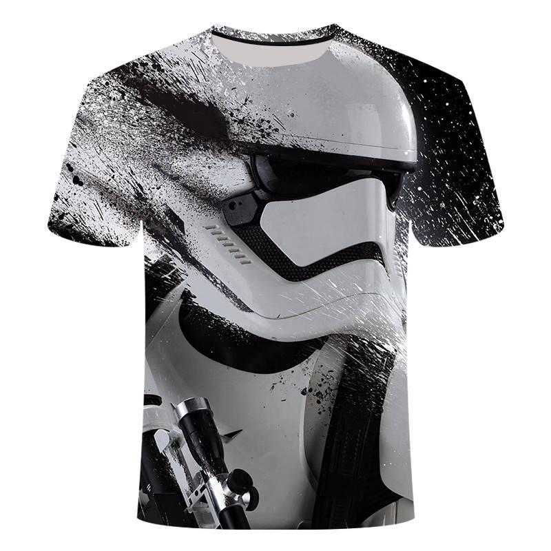 Новинка, Harajuku футболки йода/Дарта Вейдера с принтом в стиле «Звездные войны», Мужская 3D футболка/женская футболка, уличная одежда, хип-хоп