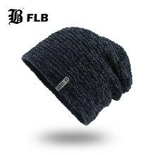 [FLB] Зимние шапки для мужчин Skullies, шапка бини, зимняя шапка для мужчин и женщин, шерстяной шарф, шапка, набор s, Балаклава, шапка, вязаная, HatF18081