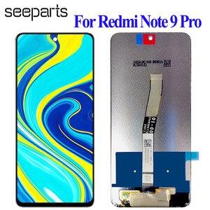 """Image 1 - Display LCD originale da 6.67 """"per Xiaomi Redmi Note 9 Pro Display LCD Touch Digitizer Screen per Xiaomi Redmi Note 9S sostituzione schermo LCD"""