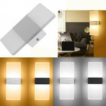 Утюг + акрил цвет: белый черный современный настенный светильник