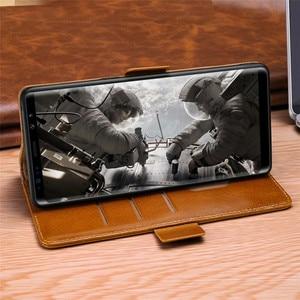 Image 4 - Роскошный флип чехол бумажник для Samsung Galaxy Note 10 9 8 s10 S9 S8 Plus Note9 Note8 S9plus из натуральной кожи, магнитный чехол книжка 360