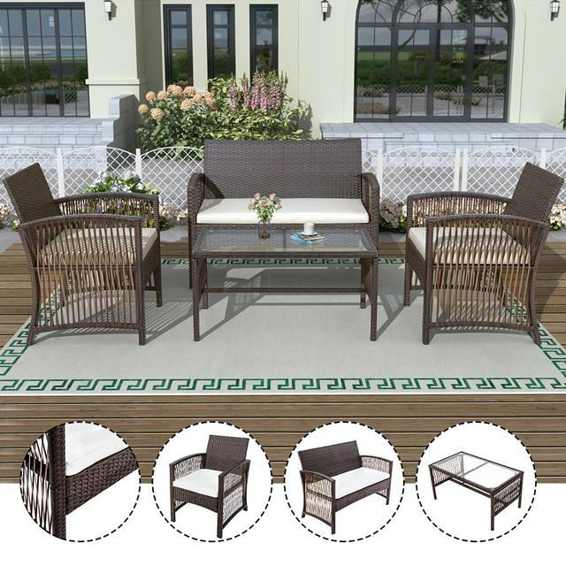 4 in 1 Garden Patio Furniture Set 3