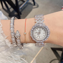 New Fashion Full Crystals Bracelet Watches for Women Rhinest
