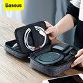 Простая водонепроницаемая сумка Baseus для телефона iPhone Xs max X 8 7 Plus  большие вместительные универсальные телефонные чехлы 7 2 дюйма для Samsung Huawei
