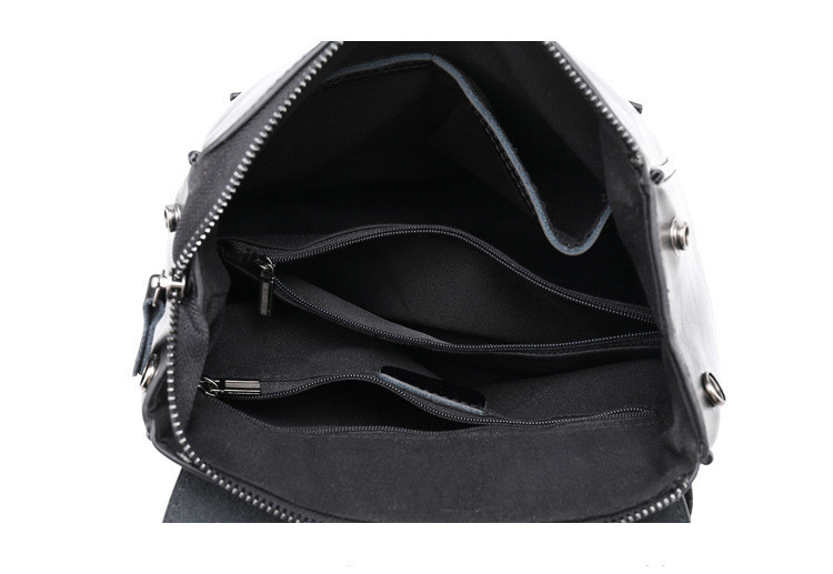 atinfor Brand High Quality Leather Small Backpack Purse for Women Convertible Shoulder Bag
