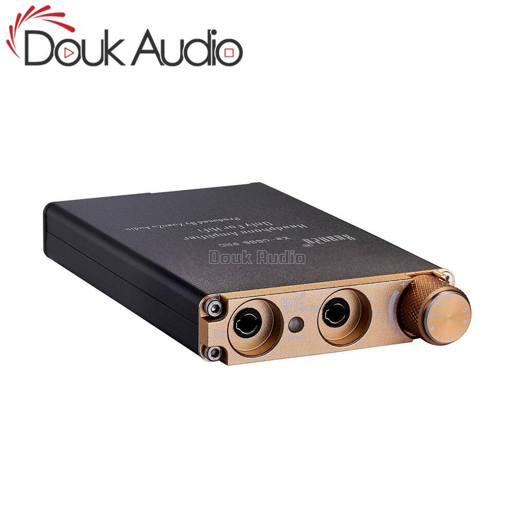 Douk áudio mini amplificador de fone de ouvido portátil alta fidelidade amplificador de áudio estéreo para o jogador de áudio do telefone