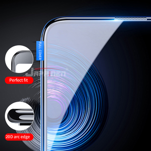 Image 2 - 20Dフル接着剤カバー強化ガラスxiaomi redmi注 9 プロマックス 9 2sミ 9t redmi注 8 7 K20 プロ 8t 7Aガラススクリーンプロテクター