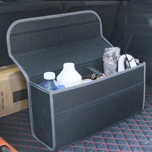 Image 2 - 50*17*24cm Car Trunk Organizer Car Storage Bag Cargo Container Box Fireproof Stowing Tidying Holder Multi Pocket Car Styling