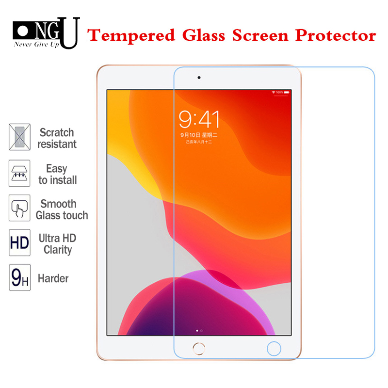 9H Tempered Glass For IPad 10.2 2019 Screen Protector For IPad 7 7th Generation A2200 A2198 A2232 Tablet Protecor Glass Film