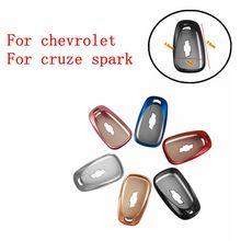 Корпусы для ключей зажигания для Chevrolet для Cruze spark camaro Volt Bolt Trax Malibu TPU чехол Fob Shell стильный аксессуар