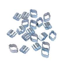 100 шт 5 31 мм 11 размер двойные зажимы для ушных шлангов автомобильные