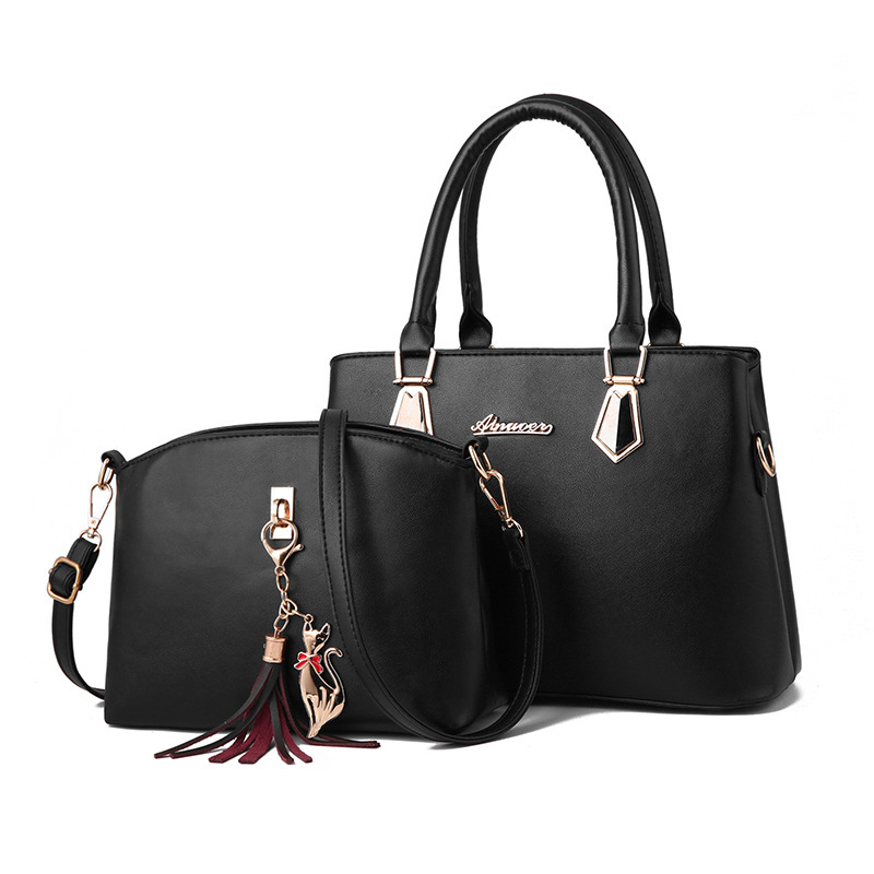 women bag Fashion Casual Contain two packages Luxury handbag Designer Shoulder bags new bags for women 2019 Composite bag bolsos