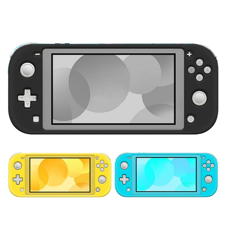 Soft Silicone Protective Case Cover Full Frame Shell Protector for Switch Lite Game Console Gaming Accessories 24BB
