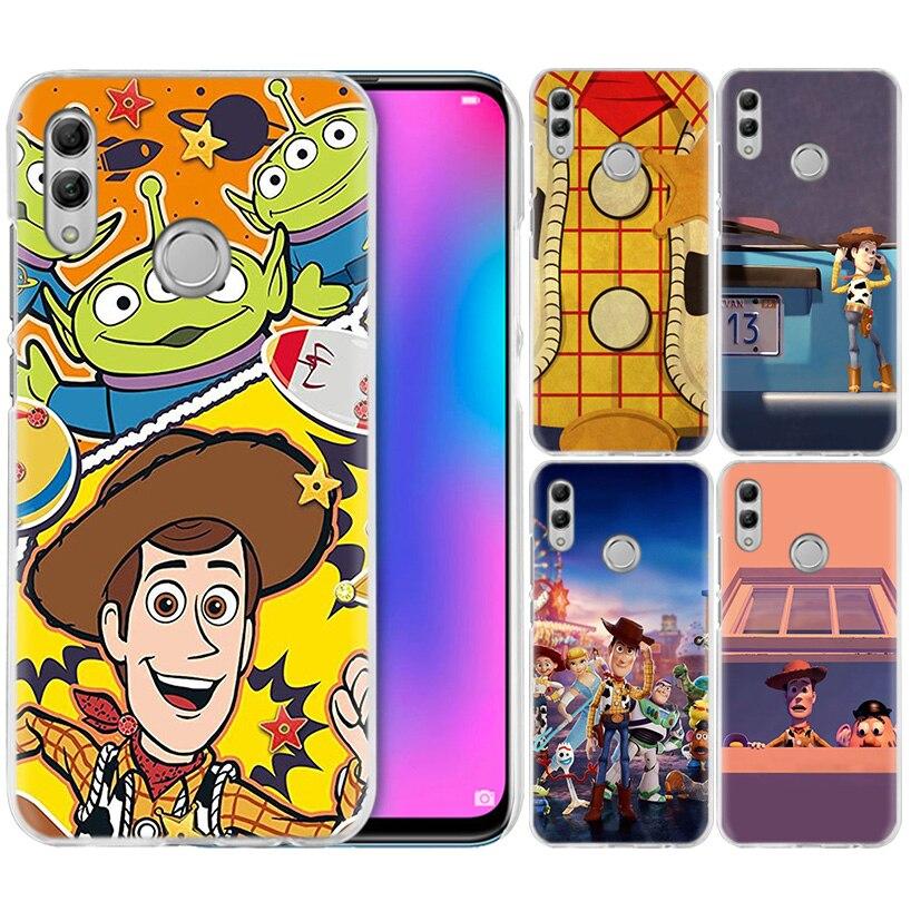 Spielzeug Story-Fall für Huawei Honor 9X Pro Spielen 3 3e 8X Y9 20 9 10 Lite 8C 8A V20 20i Y6 Y7 2019 Harte Telefon Coque Abdeckung