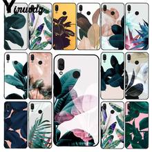 Yinuoda 夏 ofPalm 葉バナナの葉花植物 PhoneCase xiaomi Redmi4X 6A S2 行く Redmi 5 5 プラス Note4 note5 7 Note6Pro(China)