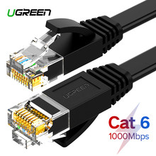 Ugreen Ethernet Cable Cat6 Lan Cable UTP CAT 6 RJ 45 Network Cable 10m/50m/100m Patch Cord for Laptop Router RJ45 Network Cable(China)