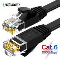 Ugreen câble Ethernet Cat6 Lan câble UTP CAT 6 RJ 45 câble réseau 10 m/50 m/100 m cordon de raccordement pour ordinateur portable routeur RJ45 câble réseau