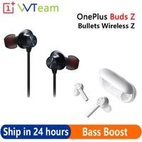 Oneplus Buds Z TWS proiettili Wireless Z auricolari Bluetooth Dynamic Boost Bass IP55 cuffie Stereo Wireless reali per Oneplus 8 Pro