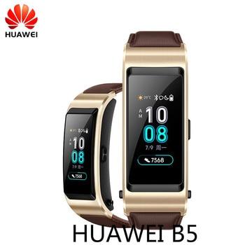 Original Huawei B5 Band TalkBand B5 Bluetooth Smart Bracelet Wearable Sports Wristbands Touch AMOLED Screen Call Earphone Band